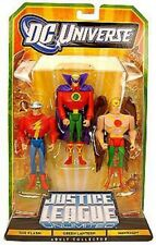 Justice League Unlimited The Flash, Green Lantern & Hawkman Action Figures