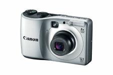 CANON POWERSHOT A1200 12.1 MEGA PIXELS 4X ZOOM SILVER DIGITAL CAMERA VIDEO PHOTO