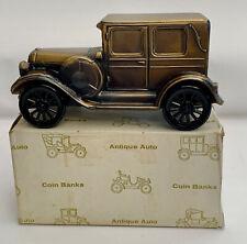 Antique Auto Coin Bank Pig Bank, Banthrico 1924 Chrysler Vintage 1974 New In Box