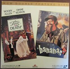Woody Allen Double-Feature: Bananas / Love and Death - USA Laserdisc set