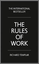 The Rules of Work: A Definitive Code for Personal Success, Good Condition Book,