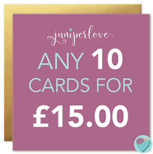 Girls Boys Birthday Cards Men Women YOU PICK ANY 10 standard cards FROM OUR SHOP