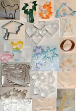 Cookie cutter Cake pastry Biscuit cutters over 50 to choose UK seller 1400+ sold