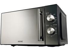KOENIC KMW 2221 B Mikrowelle 700 Watt Edelstahl Neu OVP