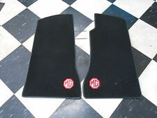 GAC1166X MG MGB MK1 FLOOR MATS WITH LOGO LOVELY QUALITY