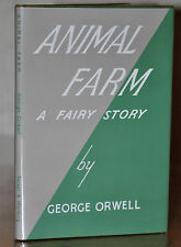1ST/2ND UK EDITION ~ ANIMAL FARM ~ GEORGE ORWELL