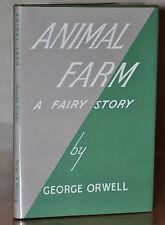 1ST/2ND UK EDITION ~ ANIMAL FARM ~ GEORGE ORWELL