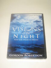 Visions of the Night How God Speaks In Dreams BRAND NEW by Gordon Robertson