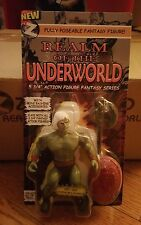 Zoloworld Realm Underworld Warrior Kry-sis White Hair Variant - MoC - MOTU KO