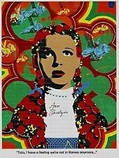 BLOTTER ART ORIGINAL DORTHY OF OZ Signed  BY ANN SHULGIN Perforated Sheet MDMA