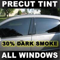 2016 Automotive Window Film 2017 Includes: Front Windshield Visor precut in 30/% Precut Window Tint Kit 2018 /& 2019 Chevrolet Colorado Crew Cab Truck Fits: 2015