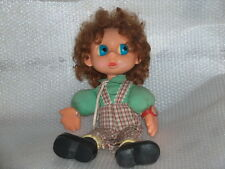 Rare Vintage Character Plastic And Cloth Doll,Krugozor Factory-Russia/Ussr,1980s
