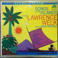 BUDDY MERRILL & LAWRENCE WELK songs of the islands LP VG+ DLP 25,251 Vinyl 1959
