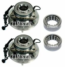 NEW Front and Rear Wheel Bearings & Hubs Kit Timken For Hummer H3 H3T 4WD 09-10