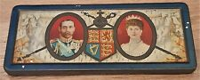 More details for rare tin presented in person by king george v in 1911, with original chocolate