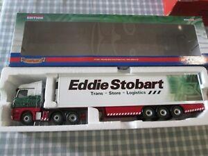 CORGI CC13801- MERCEDES-BENZ ACTROS FRIDGE TRAILER - EDDIE STOBART-BOXED