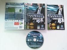 Football manager 2011 PC/apple Macintosh FR