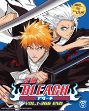 DVD ANIME BLEACH Complete Series Vol.1-366 End English Subs Reg All + FREE DVD