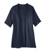 Esmara Cardigan Strickjacke Kimonostyle blau/grau Gr. M 40/42 Neu mit Etikett