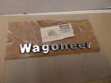 "Mopar NOS Liftgate/Front Fender Emblem ""WAGONEER"" 84-85 Jeep Cherokee Wagoneer"