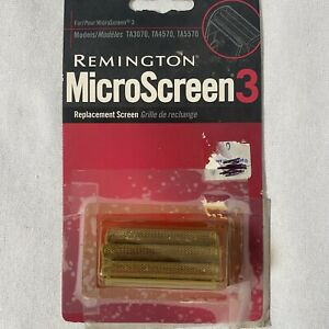 Remington MicroScreen 3 Sp-90 Shaver Replacement Screen SP90