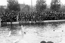 Nvb-52 Social History, Water Polo Match, Unknown Location. Photo