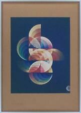 POSTER SILKSCREEN SCULPTURE MUSEUM GRAPHIC ART MCM NYC ORIGINAL BAUHAUS JEWISH