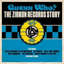 Guess Who? - The Zirkon Records Story 1960-1962 2CD 2015 NEW/SEALED