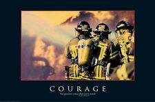 HOW I MET YOUR MOTHER ~ COURAGE FIREMEN 24x36 POSTER When Tested Barney Stinson