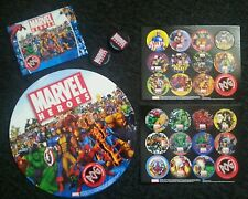 Marvel Heroes. POG Game.100% Authentic. 2006 POG Unlimited. 2 players/Ages 5+yrs