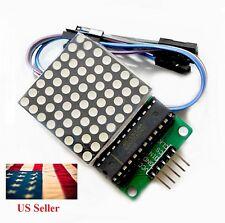 MAX7219 Dot led matrix module MCU control Display module for Arduino -DIY Solder