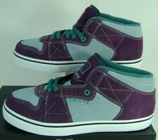 New Mens 13 DC Smith 2.0 S Suede Leather Skate Shoes $70 Stone Blue Purple