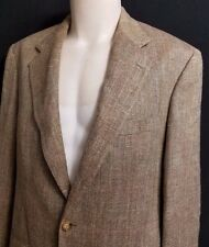 EXC BROOKS BROTHERS Plaid Tweed Blazer Sportcoat Small USA 39S  Short 2 Button