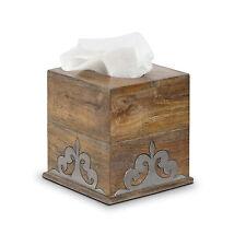 wood tissue box covers ebay. Black Bedroom Furniture Sets. Home Design Ideas