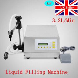 Automatic Liquid Filling Machine Bottle Filler Digital Control Pump 5ml-3500ML