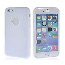"Screen Protector/S line Skin Soft Gel Back Case For iPhone 6 Plus 5.5"" inch"