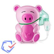 Inhaliergerät Kinder Inhalator Inhalation Aerosol Vernebler Kompressor Piggi