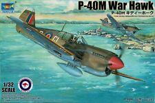 Trumpeter 02211 1/32 P-40m War Hawk Plastic Model Kit