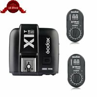 Godox X1T-S TTL Flash Trigger Transmitter + 2* XTR-16 Receivers Kit For Sony Cam