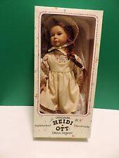 Heidi Ott Handmade Girl Doll In Original Box No UPC
