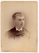 Cabinet Photo Good Looking Teen Boy Well Dressed Turn of Century - New York City