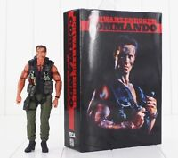 John Matrix Phantom Commando Action Figur NECA Schwarzenegger Film Sammlung OVP