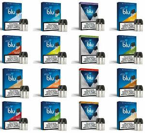 MyBlu Intense E Liquid Pods Nicotine Salt Pack / My Blu Vape Pods