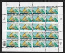 US 33 cent American Samoa Pane of 20 Scott #3389 MNH