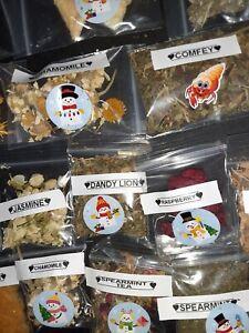 Land Hermit  crab food 2x3  7 and 10 2x2  bags homemade organics