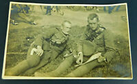 Vintage World War Soldiers Military RPPC Real Photo Postcard