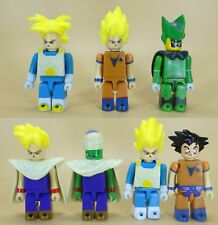 "lot of 7 DragonBall Z DBZ  mini ACTION FIGURE 2.5"" old loose"