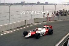 John Watson McLaren MP4B Winner Detroit Grand Prix 1982 Photograph 1