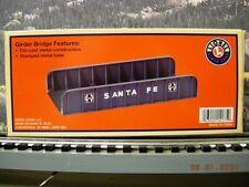 LIONEL 14175 – Santa Fe Girder Bridge – NIB – OG – C10/P10