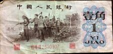 ZHONGGUO RENMIN YINHANG 1 YI JIAO CIRCULATED 1962